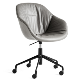 HAY AAC 153  soft swivel chair with castors and gas lift