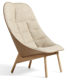 HAY Uchiwa lounge stoel quilted