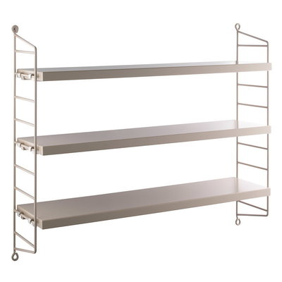 STRING POCKET SHELVES BEIGE