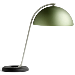 HAY CLOCHE TABLE LAMP MINT GREEN - BLACK
