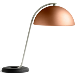 HAY CLOCHE TABLE LAMP MOCCA - BLACK