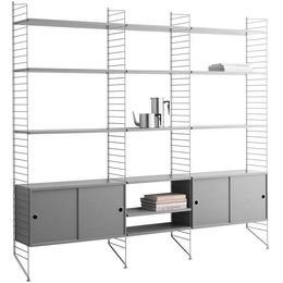 STRING WALL COMBO HIGH LARGE GREY