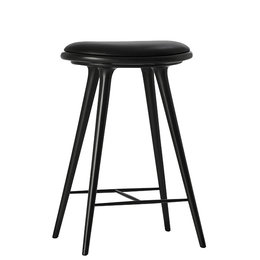 MATER HIGH STOOL 69 CM  BLACK STAINED BEECH