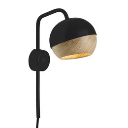 MATER DESIGN RAY WALL LAMP BLACK