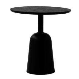 NORMANN COPENHAGEN TURN SIDE TABLE BLACK