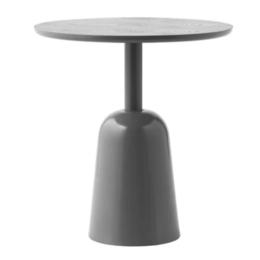 NORMANN COPENHAGEN TURN SIDE TABLE  GREY