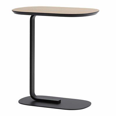 MUUTO RELATE SIDE TABLE OAK/BLACK