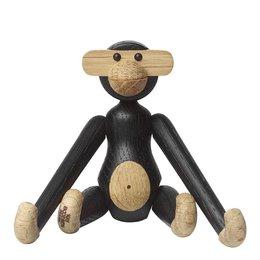 KAY BOJESEN Monkey mini aap - donkerbruin gebeitst