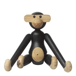 KAY BOJESEN Monkey mini - dark stained brown