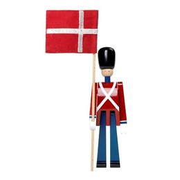 KAY BOJESEN STANDARD BEARER MINI WITH TEXTILE FLAG