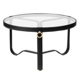 GUBI ADNET COFFEE TABLE Ø 70 CM BLACK