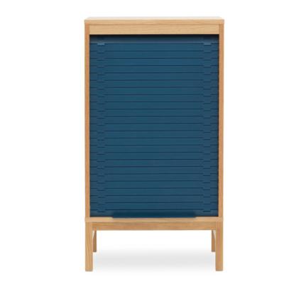 NORMANN COPENHAGEN Jalousi Cabinet  Low Blue