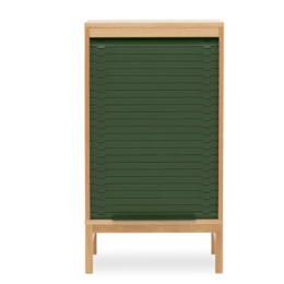 NORMANN COPENHAGEN Jalousi Cabinet  Low Green
