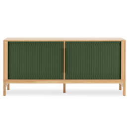 NORMANN COPENHAGEN Jalousi Sideboard Green