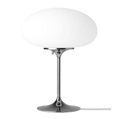 GUBI STEMLITE TABLE LAMP BLACK/CHROME 42 CM