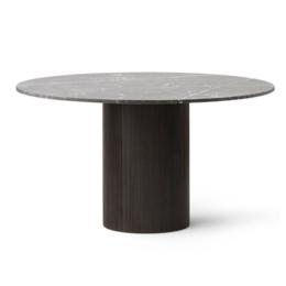 VIPP 494 CABIN TABLE 130 DARK OAK - GREY MARBLE