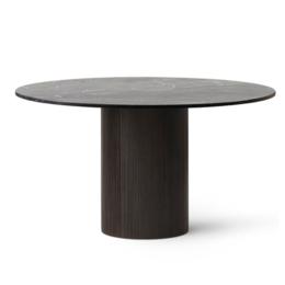 VIPP 494 CABIN TABLE 130 DARK OAK - BLACK MARBLE