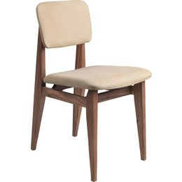 GUBI C-CHAIR LEER