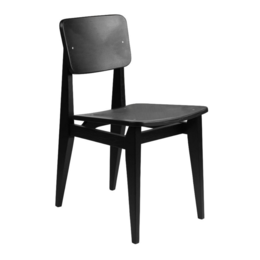 GUBI C-CHAIR DINING CHAIR WOOD