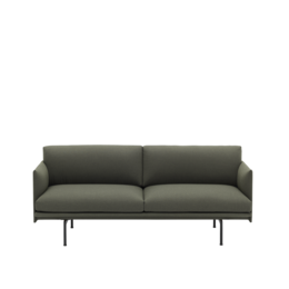 MUUTO OUTLINE STUDIO SOFA 170 - 76 DEPTH