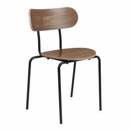 GUBI COCO DINING CHAIR WALNUT