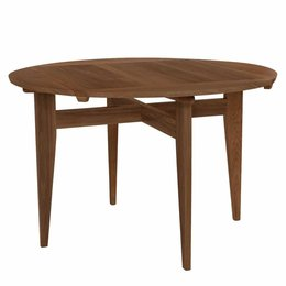 GUBI B- TABLE ROUND/SQUARE WALNUT
