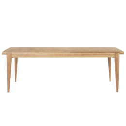 GUBI S- TABLE RECTANGLE OAK