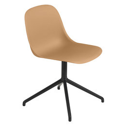 MUUTO FIBER SIDE CHAIR - SWIVEL BASE W. RETURN