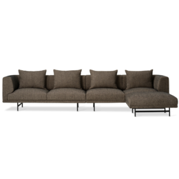 VIPP 632 Chimney 4 seater sofa with ottoman