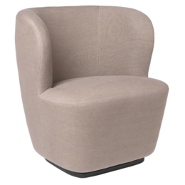 GUBI STAY LOUNGE STOEL SMALL - RETURN  SWIVEL