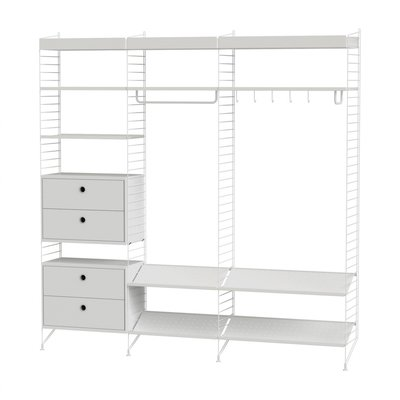 STRING WARDROBE COMBO WITH SHOE RACK