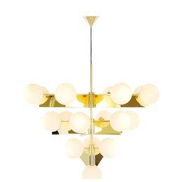 TOM DIXON Plane chandelier gold