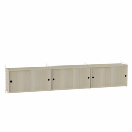STRING SIDEBOARD WALL CABINET LARGE WOOD