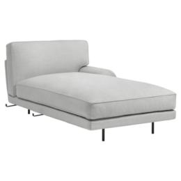 GUBI Flaneur chaise longue module - arm rechts