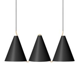 LYFA Mosaik sidebyside 3 hanglamp