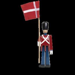 KAY BOJESEN Standard Bearer met textiel vlag