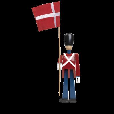 KAY BOJESEN Standard Bearer with textile flag