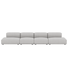 MUUTO CONNECT  CORNER SOFA  4 SEATER