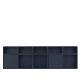 Muuto STACKED 2.0 KAST 8 - MIDNIGHT BLUE
