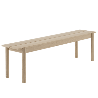 MUUTO Linear Wood bench 170 cm.