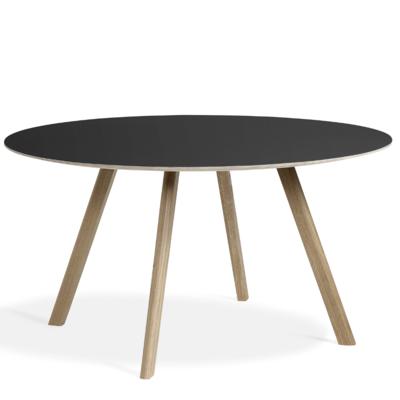 HAY CPH 25 table soaped oak - Ø140