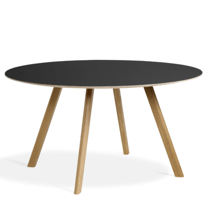 HAY CPH 25 TABLE ROUND- W.B LACQUERED