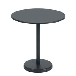 MUUTO LINEAR STEEL CAFÉ TABLE 70 - ROUND