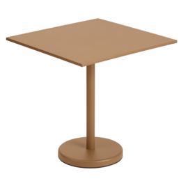 MUUTO LINEAR STEEL CAFÉ TABLE 70