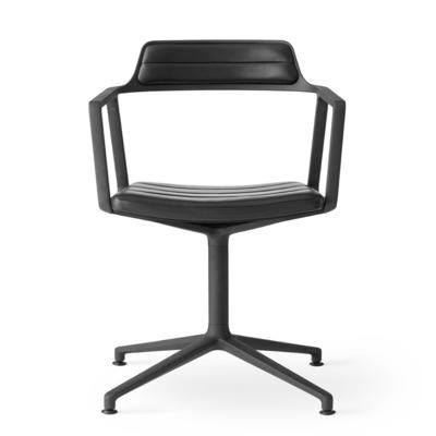 VIPP 452 Swivel chair black aluminium