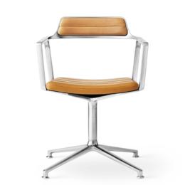 VIPP 452 Chair aluminium - swivel base