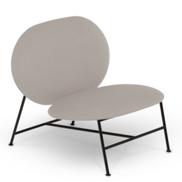 NORTHERN Oblong lounge chair
