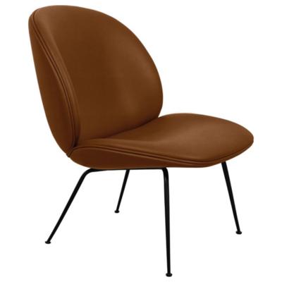 GUBI Beetle lounge chair upholstered - base black