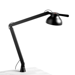 HAY PC DOUBLE ARM DESK LAMP WITH CLAMP