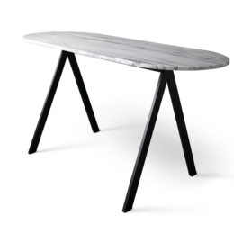FRIENDS & FOUNDERS SAW DESK TABLE MARBLE